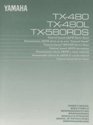 Yamaha TX-480 / TX-480 L / TX-580 RDS Bedienungsanleitung