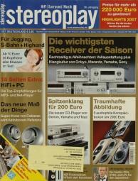 Stereoplay 1/2007 Zeitschrift