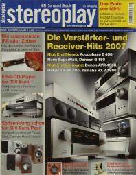 Stereoplay 9/2007 Zeitschrift