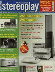 Stereoplay 12/2007 Zeitschrift