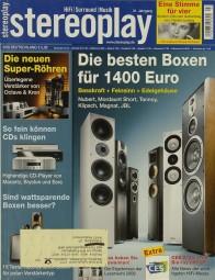 Stereoplay 3/2008 Zeitschrift