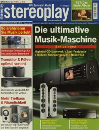 Stereoplay 10/2008 Zeitschrift