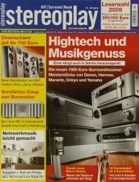 Stereoplay 12/2008 Zeitschrift