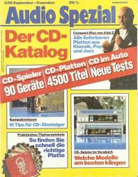 Audio Spezial 2/1985 Zeitschrift