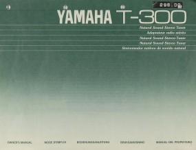 Yamaha T-300 Bedienungsanleitung