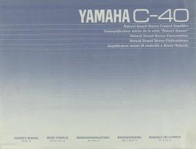 Yamaha C-40 Bedienungsanleitung