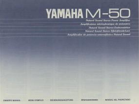 Yamaha M-50 Bedienungsanleitung