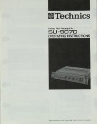Technics SU-9070 Bedienungsanleitung