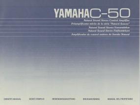 Yamaha C-50 Bedienungsanleitung