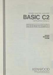 Kenwood Basic C2 Bedienungsanleitung