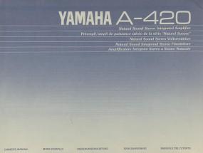 Yamaha A-420 Bedienungsanleitung