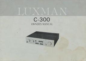 Luxman C-300 Bedienungsanleitung