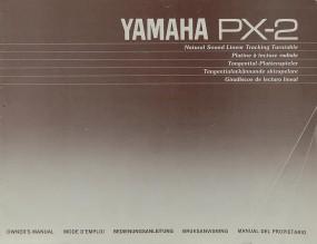 Yamaha PX-2 Bedienungsanleitung