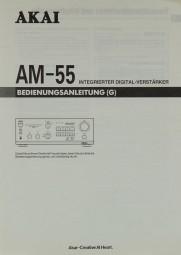 Akai AM-55 Bedienungsanleitung