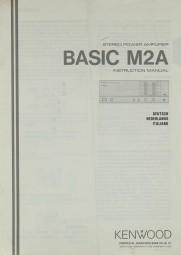 Kenwood Basic M 2 A Bedienungsanleitung