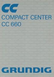 Grundig CC 660 Bedienungsanleitung