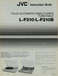 JVC L-F 210 / 210 B Bedienungsanleitung