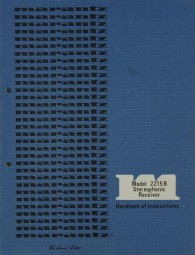 Marantz Model 2215 B Bedienungsanleitung