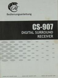 Cat CS-907 Bedienungsanleitung