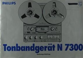 Philips N 7300 Bedienungsanleitung