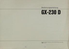 Akai GX-230 D Bedienungsanleitung