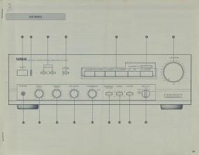 Yamaha AX-500/U Bedienungsanleitung