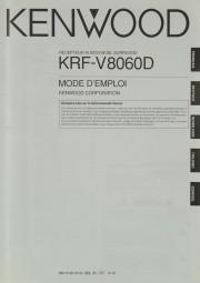 Kenwood KRF-V 8060 D Bedienungsanleitung