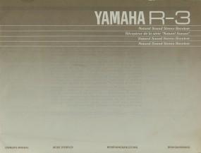 Yamaha R 3 Bedienungsanleitung