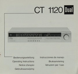Dual CT 1120 Bedienungsanleitung