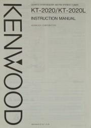 Kenwod KT-2020 / KT-2020L Bedienungsanleitung