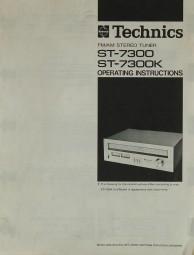 Technics ST-7300 / ST-7300 K Bedienungsanleitung