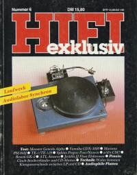 Hifi Exklusiv Nummer 6 Zeitschrift