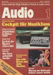 Audio 1/1978 Zeitschrift