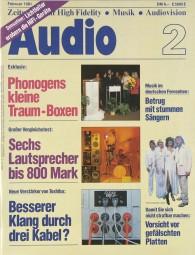 Audio 2/1981 Zeitschrift