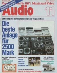 Audio 11/1981 Zeitschrift