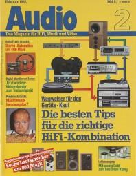 Audio 2/1982 Zeitschrift
