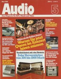 Audio 5/1982 Zeitschrift