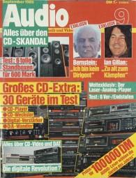 Audio 9/1988 Zeitschrift