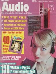 Audio 5/1990 Zeitschrift