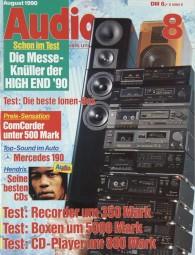 Audio 8/1990 Zeitschrift