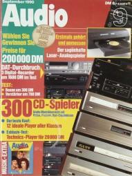 Audio 9/1990 Zeitschrift