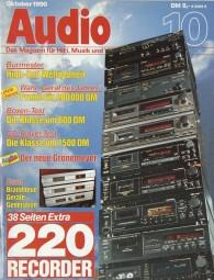 Audio 10/1990 Zeitschrift