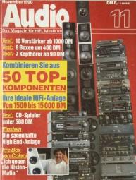 Audio 11/1990 Zeitschrift