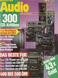 Audio 12/1990 Zeitschrift