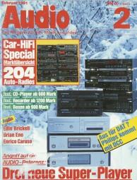Audio 2/1991 Zeitschrift