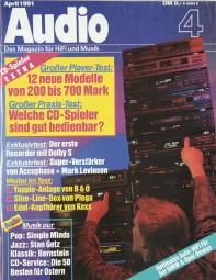 Audio 4/1991 Zeitschrift