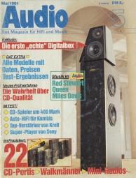Audio 5/1991 Zeitschrift