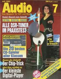 Audio 7/1993 Zeitschrift