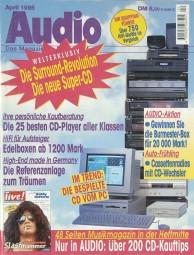 Audio 4/1995 Zeitschrift