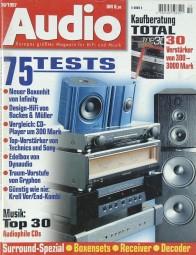 Audio 10/1997 Zeitschrift